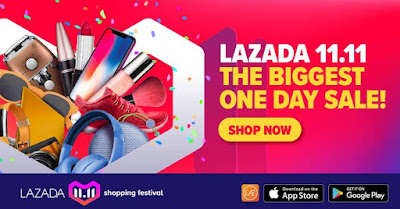 Lazada 11.11 The Biggest One Day Sale