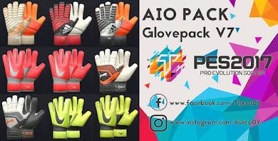 PES 2017 GlovePack v7 Season 2018/2019 by Tisera09
