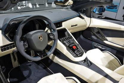 Lamborghini Aventador S Roadster Interior