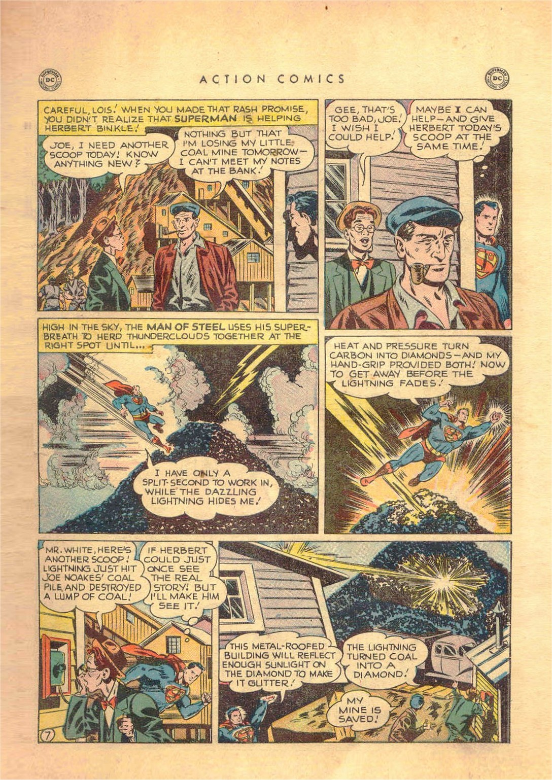 Read online Action Comics (1938) comic -  Issue #138 - 8