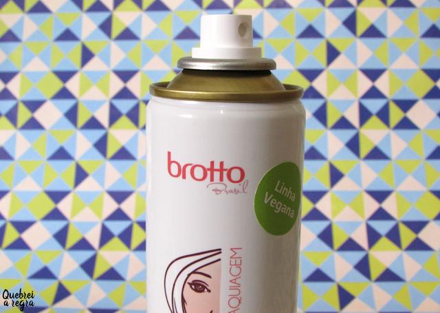 Fixador de Maquiagem 2 em 1 da Brotto Brasil