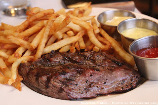 Steak Frites with Maître D' butter or Béarnaise sauce at Balthazar