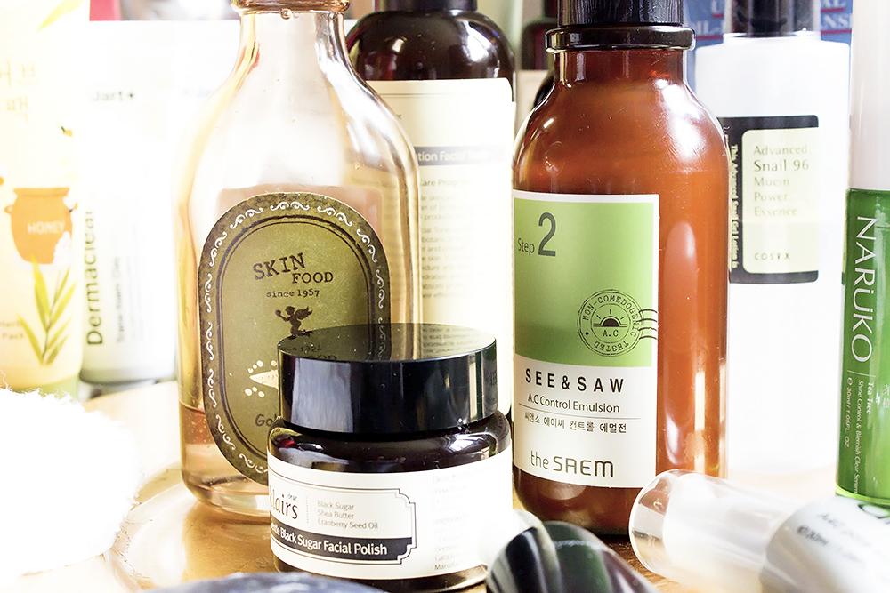 How to create your own korean skincare routine scrub