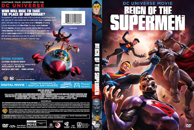 Reign of the Supermen DVD Cover