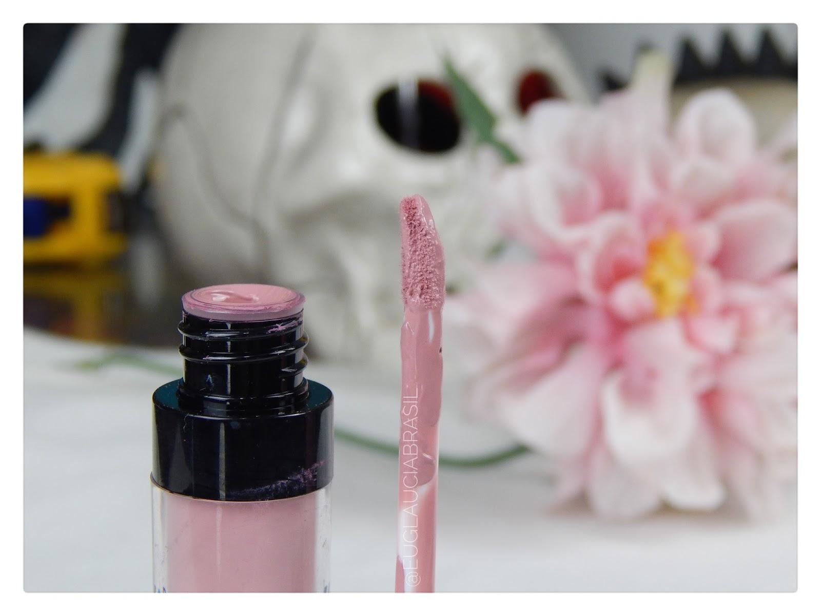 batom rosa liquido matte da ruby rose