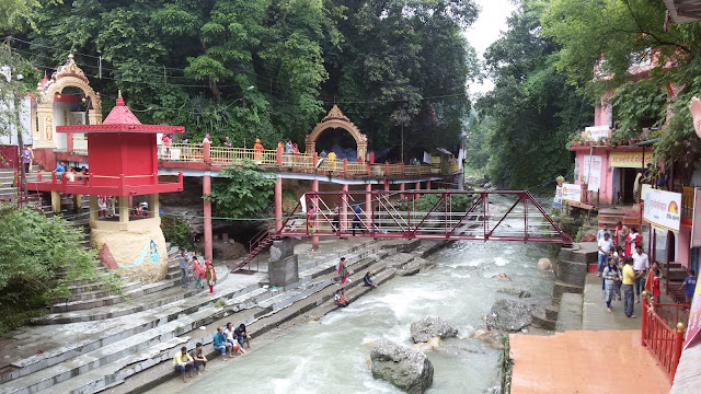 Tons River at Tapkeshwar Temple