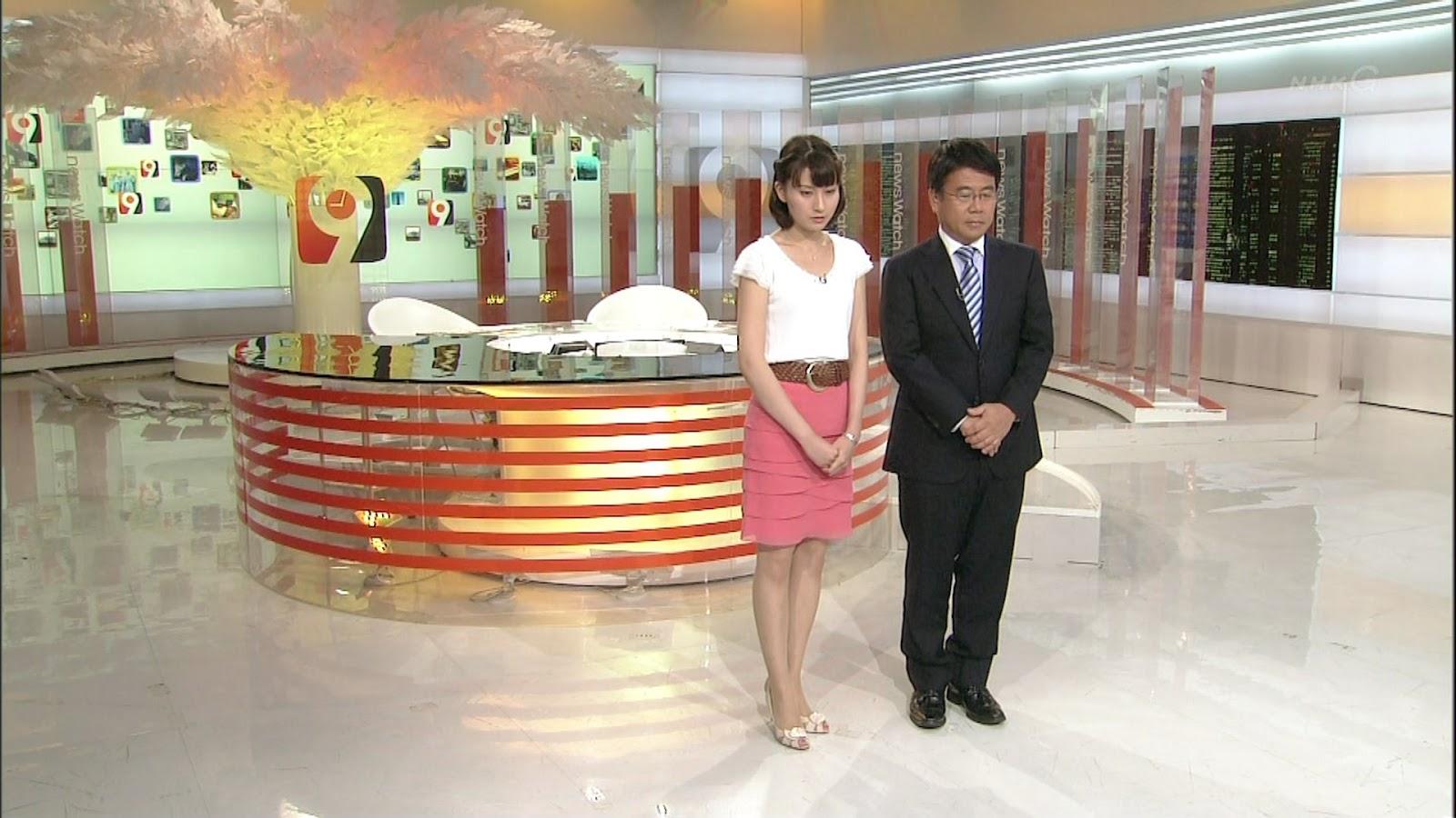 井上あさひさん 12年8月13日 NHK ニュ−スウオッチ9 匂い付き...  井上あさひさん