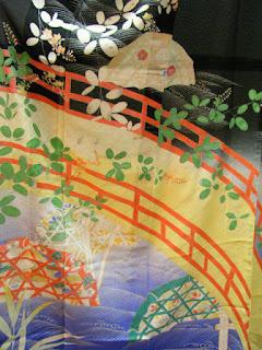 Kimono Seasonal Flowers Motifs And Colors July The