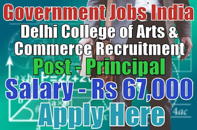 Delhi College of Arts and Commerce DCAC Recruitment 2017