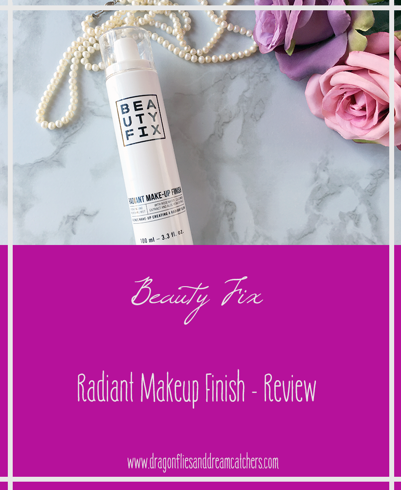 Review of Beauty Fix - Radiant makeup finish