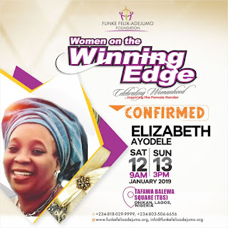 Download Funke Felix Adejumo to host Winning Edge Conference 2019 %name mp3 mp4 GurusFiles.Com.Ng
