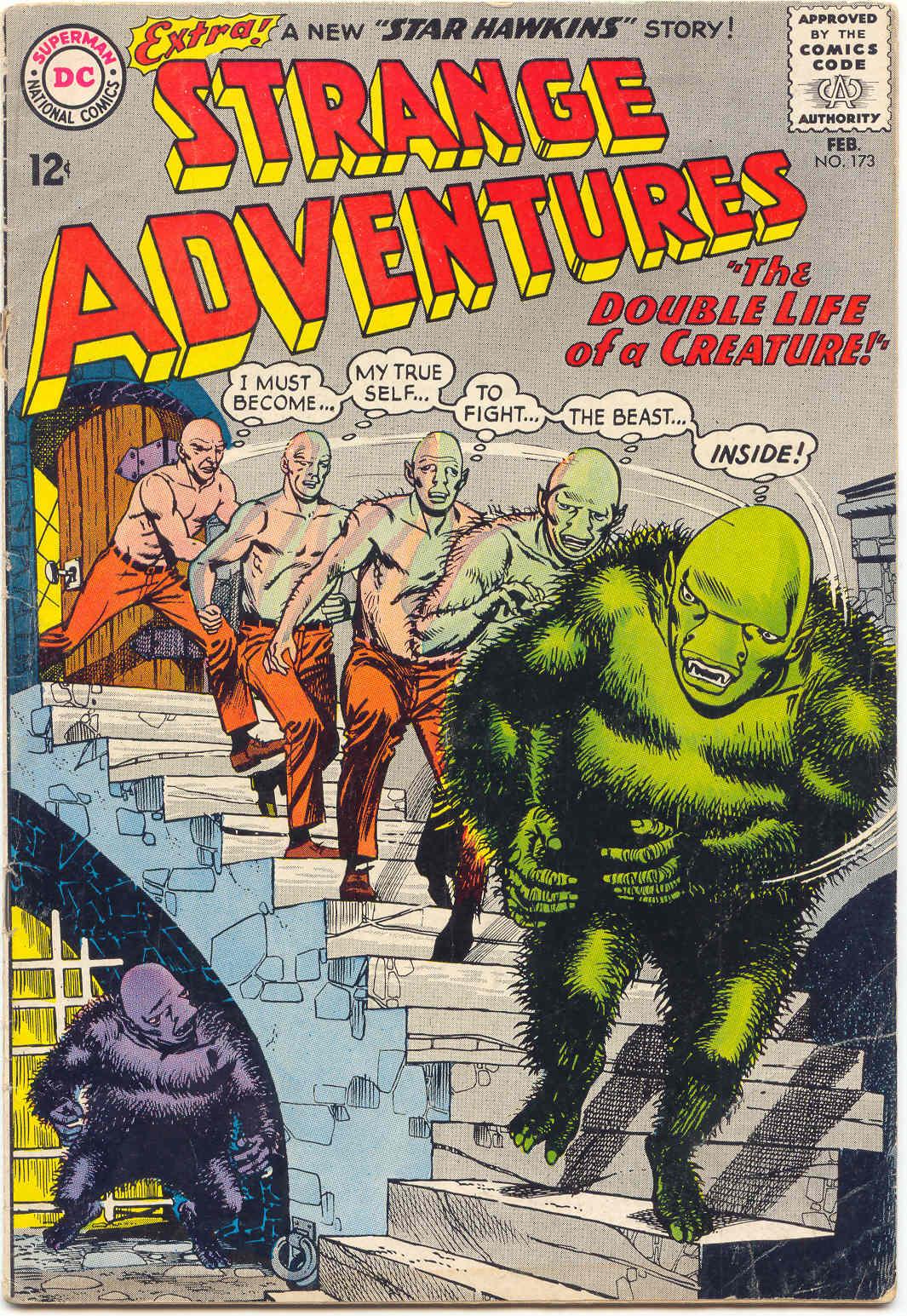 Strange Adventures (1950) issue 173 - Page 1