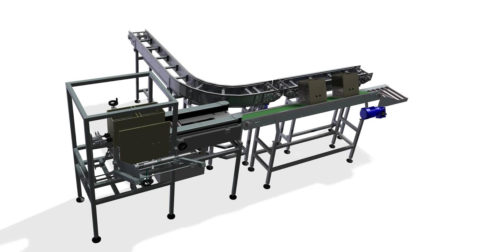 Conveyor belt bliss former || Download free 3D cad models