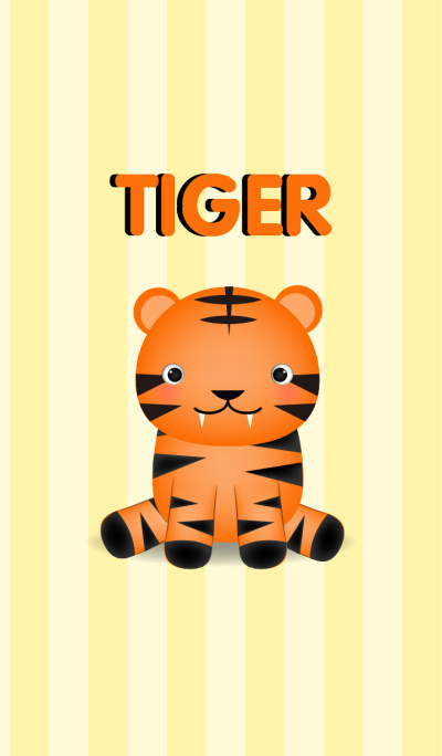 Cute Baby Tiger Theme