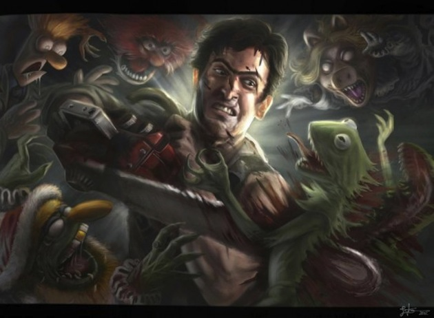 fishmuffins of doom zombies in art fan art edition