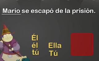 http://www.mundoprimaria.com/juegos-lenguaje/juego-pronombres/