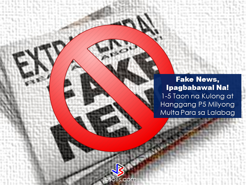 "A bill that seeks to end the spread of fake news has been proposed by Senator Joel Villanueva. The proposed bill will penalize individuals who will fabricate and disseminate wrong informations or fake news using any form of media. Under the proposed Senate Bill 1492 or the Anti-Fake New Act Of 2017, violators will be fined amounting from P100,000 to P5,000,000 and jail term from one year to maximum of five years. Accomplices or the people who will help to spread these fake news will also face P50,000 to P3,000,000 and imprisonment of 6 months up to maximum of 3 years.  However, for the government officials who will violate the bill the fines and jail term will be doubled and they will be disqualified to hold any public office.  A week before Villanueva filed of the bill, the senator criticized Justice Secretary Vitaliano Aguirre II as he made false claims against some lawmakers who belong to the opposition as having been potentially involved in the Marawi conflict.   Catholic Bishops' Conference of the Philippines (CBCP) also makes a call to spread the truth and refrain from patronizing those who maliciously spread fake news.   Source: GMA, ABC5  Read More:           How to register online:  1. Go to www.philhealth.gov.ph  2. Fill-out the needed information correctly.   3. You will then receive a confirmation e-mail and your log-in password. Click the link provided in the e-mail and log-in using your details.   4. After clicking the link, you will get a notification that your account is activated and you can now log-in to your Philhealth account.  5.  On log-in, you may need to enter an answer to a security question. It could be  any one of the three answers you provided earlier.   6. Congratulations! You successfully created and activated your Philhealth account.  You can now access your Philhealth members profile.  You can check the contributions you made  as well.  Should you find any error or discrepancies in your MDR, you may email Philhealth at actioncenter@philhealth.gov.ph     Once you are already registered, you can now get your Philhealth ID. Visit the nearest Philhealth office in your area and ask for the Philhealth Member Registration Form or PMRF.  Fill-out the form and submit it. In a few minutes, you can claim your printed Philhealth ID.  For premium payments, you can pay online through these Electronic Payment Facilities:  OneHUB (Unionbank Of The Philippines) Expresslink (Bank Of The Philippine Islands) Citiconnect (Citibank) Digibanker (Security Bank) Or via e-Gov (Bancnet) Asia United Bank China Banking Corporation CTBC Bank (Philippines) Corporation Development Bank of the Philippines East West Banking Corporation Metropolitan Trust & Bank Company Philippine National Bank Philippine Veterans Bank RCBC Savings Bank  For OFWs, you can pay your premium contributions through these accredited  collecting agents only:   Overseas Collections Over-the-counter collection system Bank Of Commerce Development Bank Of The Philippines IRemit, Inc. Landbank Of The Philippines Ventaja International Corporation  *Beware of unauthorized collecting agents issuing fake Philheath Official receipts. Visit the nearest Philhealth office in your area and ask for the Philhealth Member Registration Form or PMRF.  Fill-out the form and submit it. In a few minutes, you can claim your printed Philhealth ID.  Overseas Workers Welfare Organization (OWWA)  Administrator hans leo Cacdac has disclosed that OWWA board of trustees  has recently approved a resolution allotting financial aid for Overseas Filipino Workers (OFW), who were affected by the ongoing clash between the government forces and the Maute terror group in Marawi City.   The approved financial aid amounting to P100 million will be distributed by the agency to the affected OFW families.     According to Admin Hans Cacdac, the calamity component involves cash assistance of P3,000 for active members and P1,000 members who are not active.   OWWA Region 10 office is already in the process of determining the number of  qualified beneficiaries for the cash assistance.     ""Our Region 10 director is on the ground in Iligan and Cagayan de Oro, determining the amount to be given to the beneficiaries. Distribution will happen in the coming week,"" Cacdac said.   The Department of Labor and Employment (DOLE), for its part,  earlier said that it will provide livelihood aid to  the displaced workers due to the crisis.  Marawi residents, including OFW families had voluntarily evacuated their homes in area since last week due to the rising tension. Most of them went to the nearby areas like Iligan and Cagayan de Oro City.  Their villages had been under Maute terror and they need to be somewhere safe.  President  Rodrigo Duterte already declared martial law in  the entire Mindanao  ordering the Armed Forces of the Philippines (AFP) and the Philippine National Police (PNP) to intensify counter offensives against the ISIS-inspired group.  Meanwhile, Department of Social Welfare and Development opened various evacuation centers in Mindanao following the exodus of the residents in Marawi City. According to DSWD Sec. Judy Taguiwalo, they have  food packs and non-food items on standby for distribution for affected residents from Marawi City.  DSWD assures to keep the safety of every residents in the area especially the women, children and the elderly.  Evacuation Center  Location  Buruun School of Fisheries  Iligan City  Maria Cristina Gymnasium  Iligan City  Tomas Cabili Gymnasium  Iligan City  Iligan School of Fisheries Gymnasium  Iligan City  MSU-IIT CASS Building  Iligan City  Lanao del Sur Provincial Capitol  Marawi City  Gomampong Ali's Residents  Baloi, Lanao del Sur  Saguiaran Municipal Hall  Saguiaran, Lanao del Sur  People's Plaza  Saguiaran, Lanao del Sur  Old Madrasa  Saguiaran, Lanao del Sur  Old Masjid  Saguiaran, Lanao del Sur  BFP Office  Saguiaran, Lanao del Sur  DepEd Kinder Room  Saguiaran, Lanao del Sur  Source: Manila Bulletin Overseas Workers Welfare Organization (OWWA) Administrator hans leo Cacdac has disclosed that OWWA board of trustees has recently approved a resolution allotting financial aid for Overseas Filipino Workers (OFW), who were affected by the ongoing clash between the government forces and the Maute terror group in Marawi City. The approved financial aid amounting to P100 million will be distributed by the agency to the affected OFW families.The biggest challenge to returning OFWs who lost their jobs from hostilities or distressful situations abroad is how to sustain the needs of their family now that they have lost their jobs. OWWA is now ready to help them start over with programs suited to help displaced OFWs.  Ms.Rosalina B. Casuga is a worker from Malaysia for six months. She is a returnee from San Carlos Heights, Baguio City. She applied under the Balik Pinas Balik Hanap Buhay Program at OWWA CAR and received her starter kits livelihood assistance on June 2, 2017.  The program is a package of livelihood support to returning OFW's who are either displaced by hostilities, distressed workers or other distressful situations. The aim is to help the returning OFWs  by providing livelihood that will generate everyday income for the family.  The OWWA ""Balik Pinas! Balik Hanapbuhay!"" Program is a non-cash livelihood support/assistance intended to provide immediate relief to returning member-OFWs who were displaced from their jobs due to wars/political conflicts in host countries, or policy reforms, controls and changes by the host government; or were victims of illegal recruitment and/or human trafficking or other distressful situations.  It is a package of livelihood assistance amounting to Ten Thousand Pesos (Php 10,000.00) maximum consisting of techno-skills and/or entrepreneurship trainings, starter kits/goods and/or such other services that will enable beneficiaries to quickly start a livelihood undertaking through self/wage employment.  The program aims to enable the beneficiaries to be multi-skilled through access to training services by training institutions like TESDA, DTI, and NGOs. It also equips the beneficiaries with skills that are highly in demand in the local labor market and enables them to plan, set-up, start and operate a livelihood undertaking by providing them with ready-to-go rollout self-employment package of services, consisting of short-duration trainings, start-up kits/goods business counseling and technical and marketing assistance.  To avail of the livelihood assistance and livelihood starter kit from OWWA you can contact the following:  OWWA Main Ground Floor, Rm 101, OWWA Center  7th St. corner F. B. Harrison St., Pasay City  Telephone Numbers: +632 891 7601 to 24  Hotline: +632 551-1560; +632 551-6641  E-mail Address: rmd@owwa.gov.ph   NATIONAL REINTEGRATION CENTER FOR OFWs  Ground Floor, Blas F. Ople Development Center (Old OWWA Building)  Corner Solana and Victoria Streets  Intramuros, Manila  Telephone Numbers: 527-6184/526-2633/526-2392  E-mail Address: nrcoreintegration@gmail.com   BUREAU OF WORKERS WITH SPECIAL CONCERNS  9th Floor, Antonino Bldg.  J. Bocobo St. cor. T. M. Kalaw Ave.  Ermita, Manila  Tel. No.: 404-3336  Fax No.: 527-5858  Email: mail@bwsc.dole.gov.ph  Or visit any OWWA Regional Offices near you. Claiming SSS Disability benefits seems easy. Just fill-out and submit the needed documents and Voila!, You got your benefit.But how is the actual experience  in claiming it really like?An OFW on vacation tried to apply for the disability benefit of her brother shared the actual experience she had. As she described it, it was like ""passing through a needle eye.""  ©2017 THOUGHTSKOTO"
