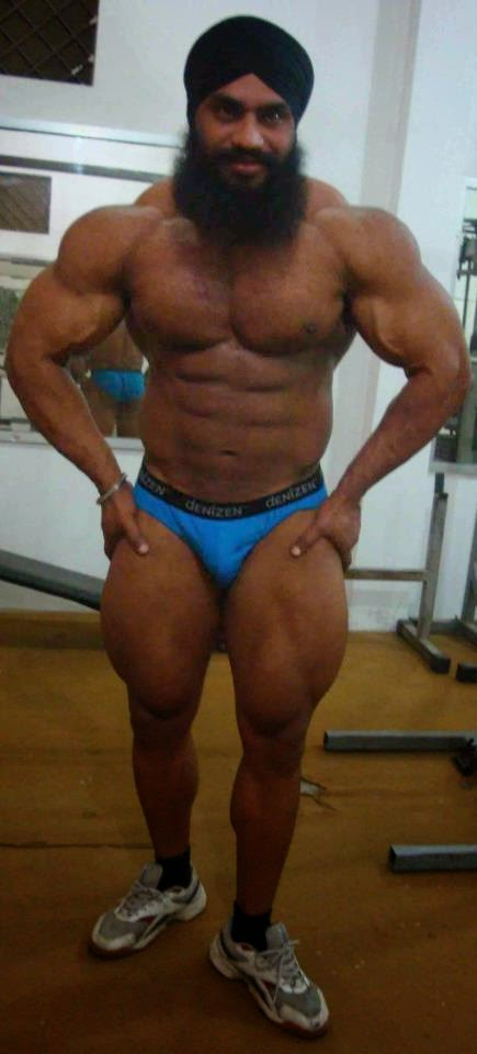 from Jadiel big indian muscle man nude