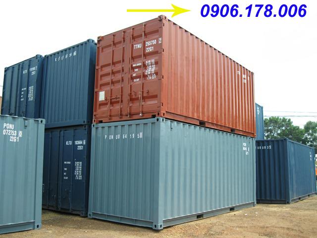 Kích thước thùng container