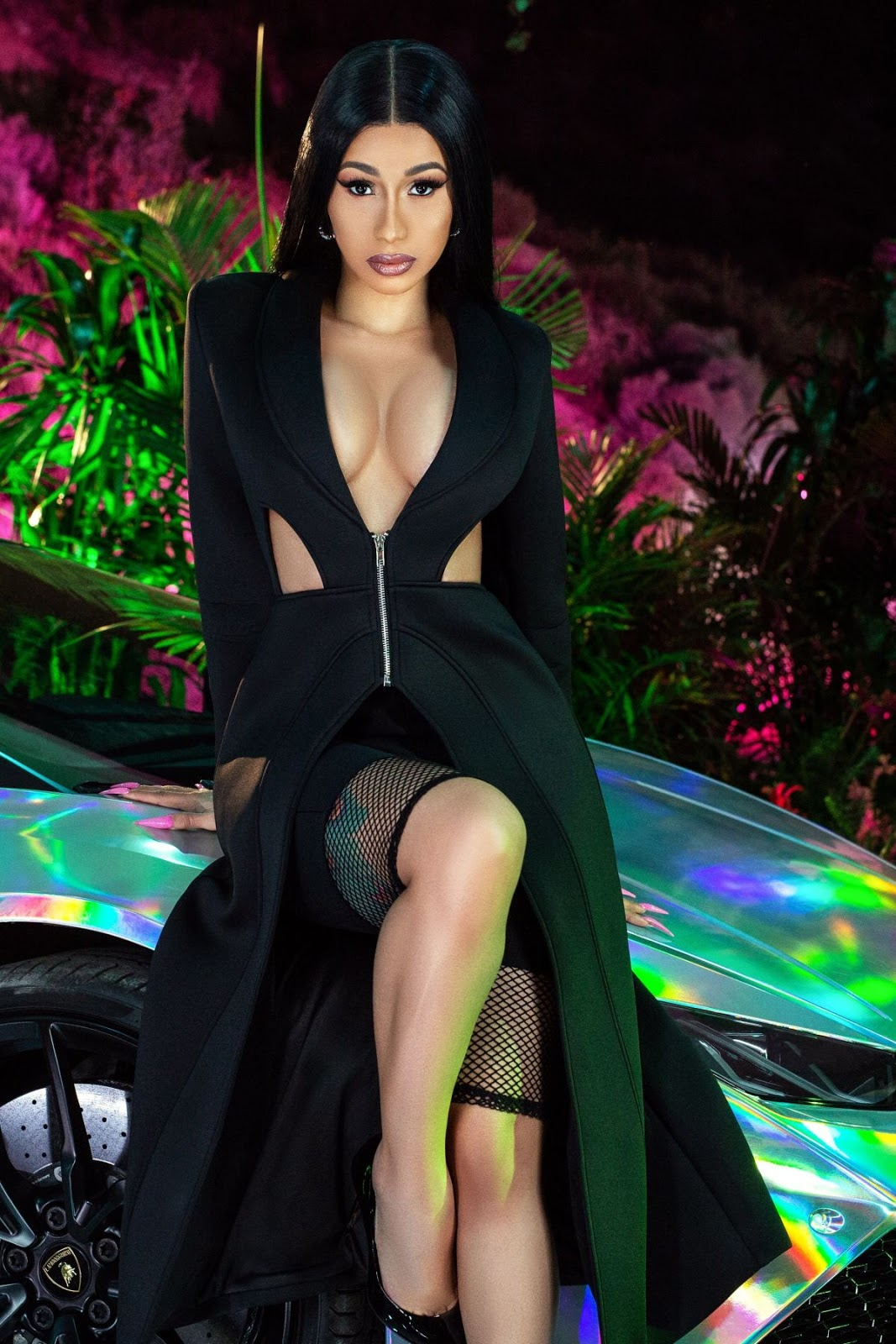 Cardi B Shows Off Her New Collection With Fashion Nova