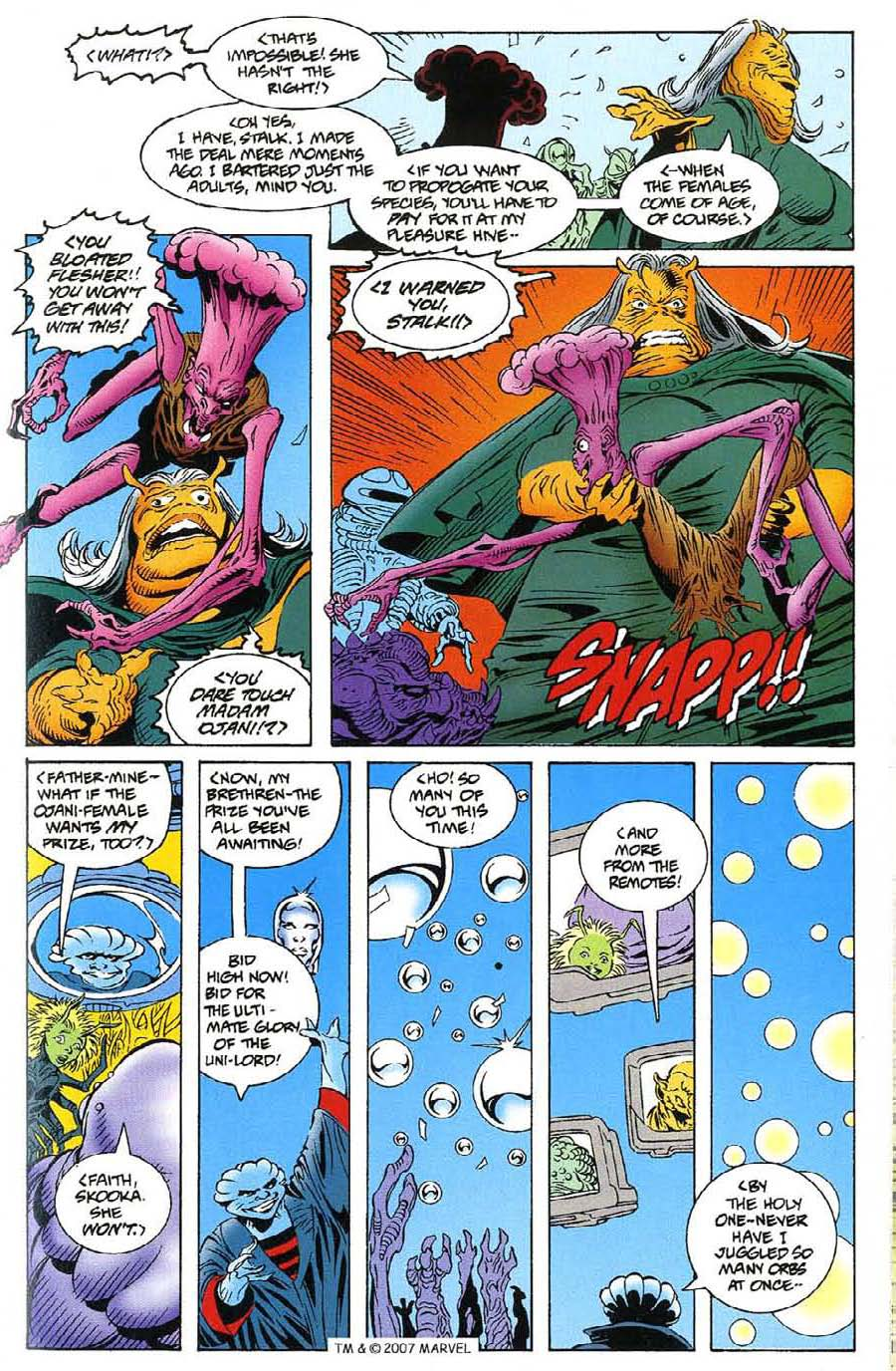 Read online Silver Surfer (1987) comic -  Issue #115 - 25