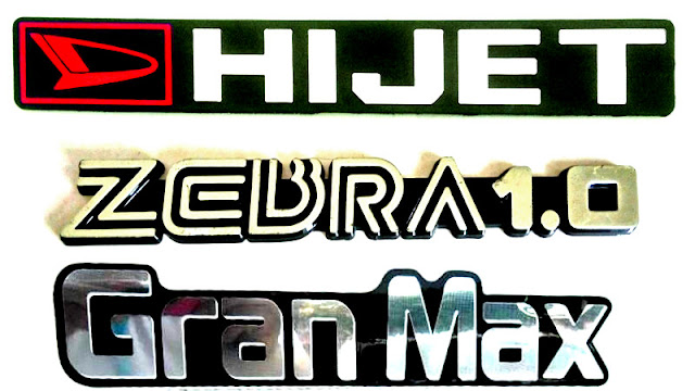 logo Sejarah Daihatsu Hijet, Zebra, Gran Max, Hi-Max di Indonesia