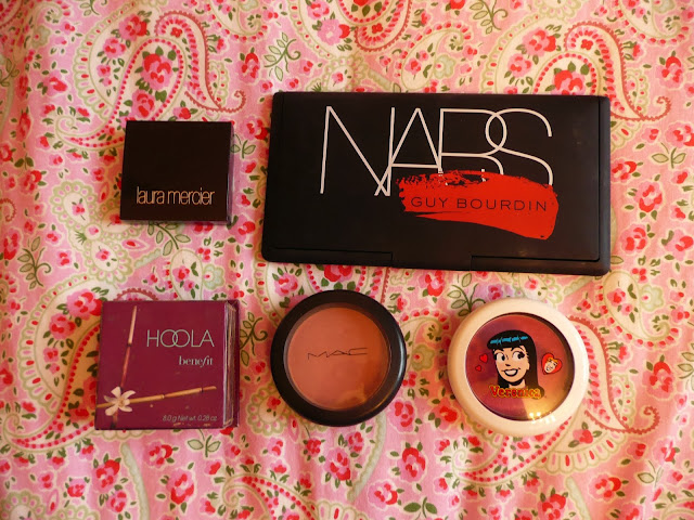 Five Favourite Cheek Products of 2013 Laura Mercier Benefit NARS MAC