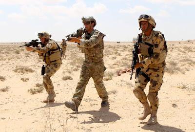 تدريبات مشتركة لمكافحة الإرهاب بين القوات الخاصة المصرية والأمريكية