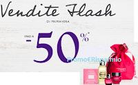 Logo Vendite flash di Primavera con sconti fino al - 50%