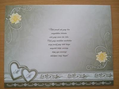 Pesan Undangan Pernikahan secara online melalui internet di wilayah purworejo