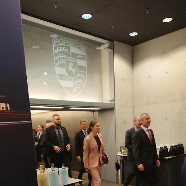 Victoria z wizytą w Niemczech + wręczenie Schwedische Handelskammer