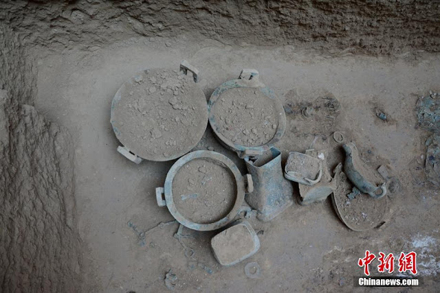 Largest Zhou dynasty tombs unearthed in Shaanxi