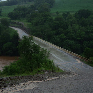 Ponte na Chegada de Ametista do Sul