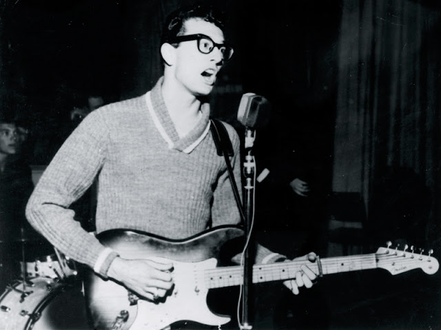 Buddy Holly, Fender Stratocaster, The Crickets,