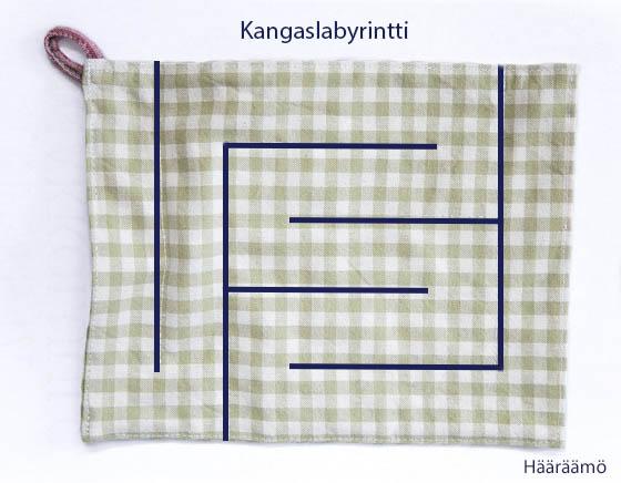 Fabric Marble Maze Kangaslabyrintti