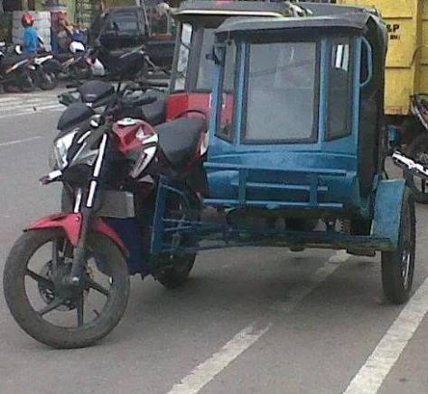 motor unik aneh lucu