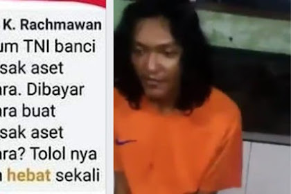 "Gagah di Medsos Hina TNI Kecyduk Malah Kayak ""Kerupuk Kesirem Air"" Lihat Videonya!"