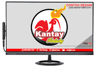 Contoh Desain Logo Kentgucky Murah