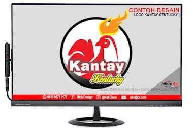 Contoh Desain Logo Kantay Kentucky Tanjungbalai | Desain Logo Murah Berkualitas