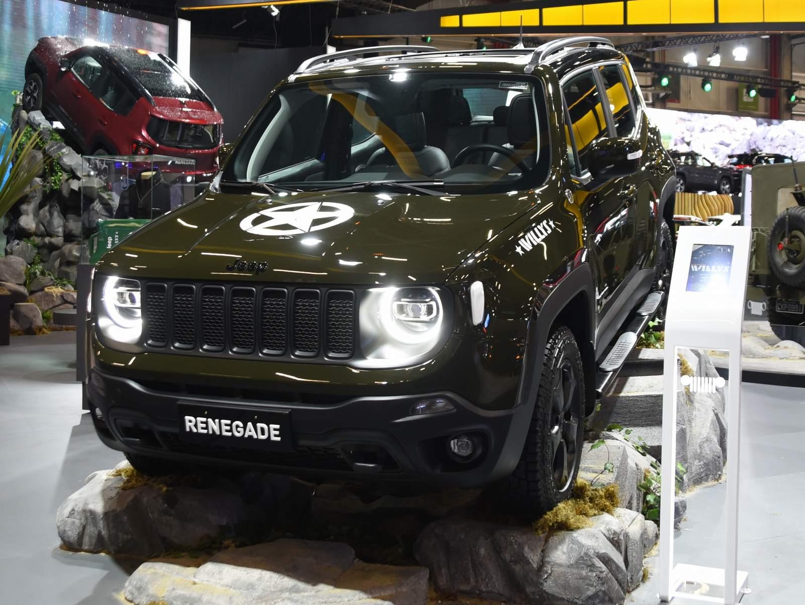Jeep Renegade Trailhawk Ganha Serie Especial Willys Fotos Car