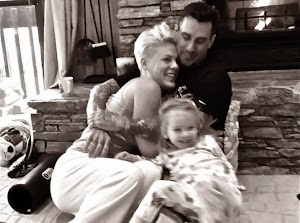Pink: the singer shared with her fans a picture of her sublime Eve!