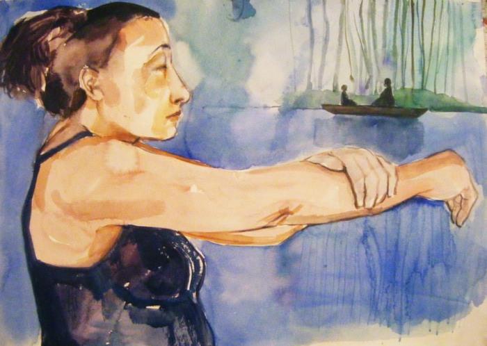 Греческая художница. Fotini Hamidieli
