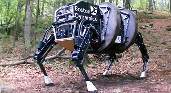 Robot berlari cepat dari Boston Dynamics