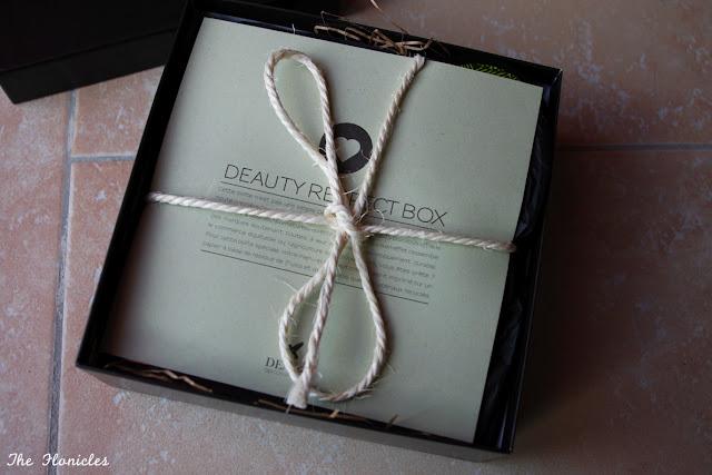 Deauty Respect box juillet 2013