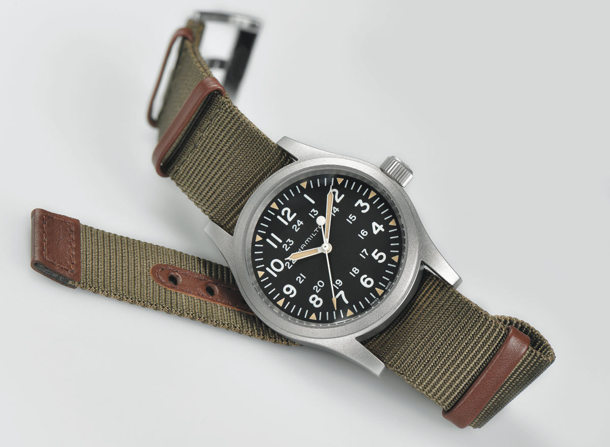 Hamilton Khaki Field Mechanical 38 Mm Time And Watches The