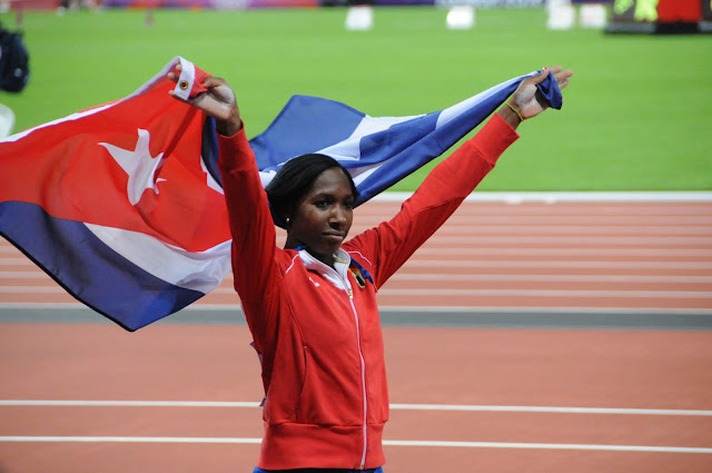 Yarisley Silva es una de las esperanzas cubanas en los Juegos Olímpicos de Rio 2016