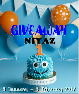 GIVEAWAY NIYAZ 1ST YEAR BIRTHDAY BY DEARIESCOUPL