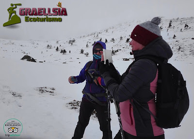 Circo de Peñalara con Raquetas de Nieve