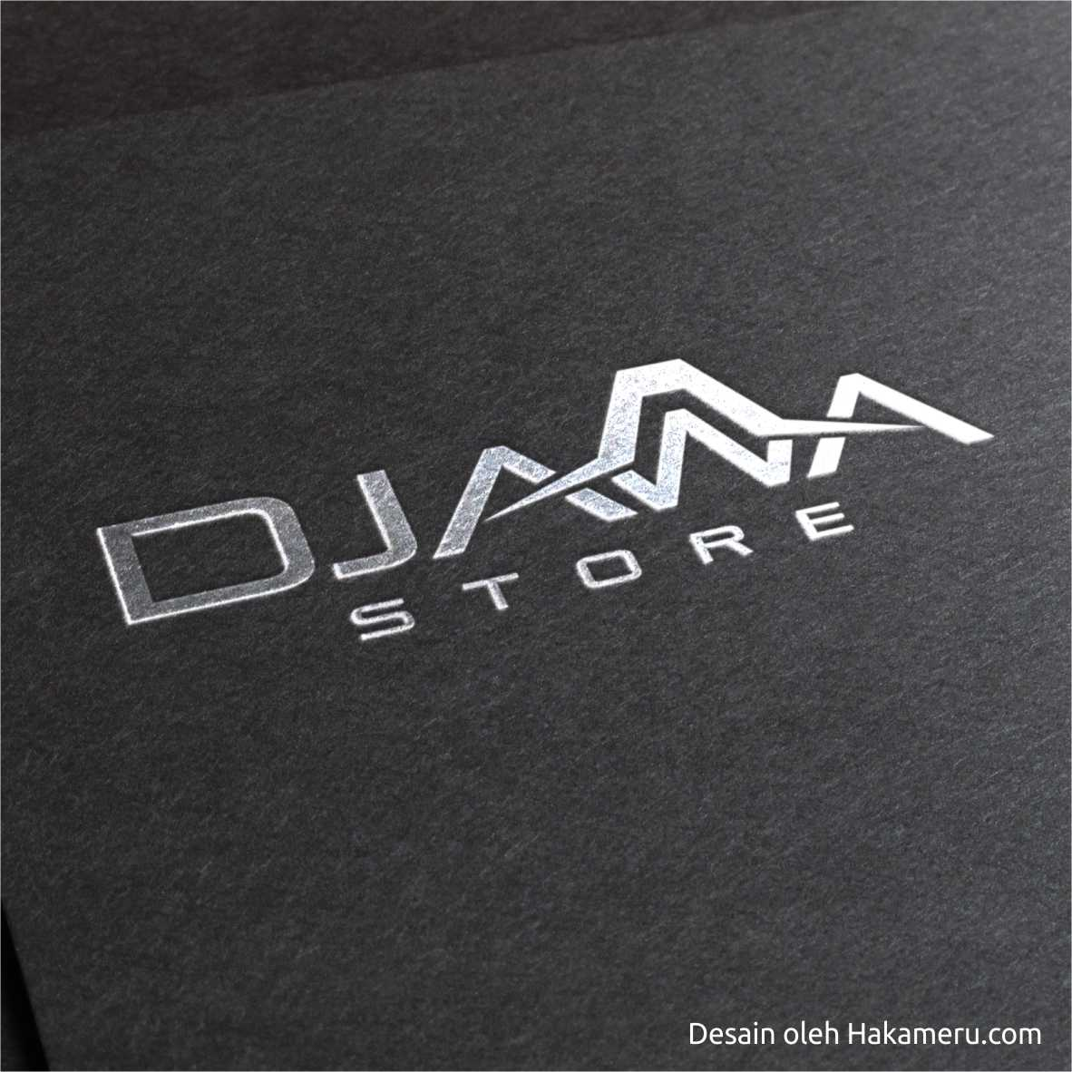 Desain logo untuk online store - toko online Djawa Store - Jasa Desain Grafis Online Hakameru