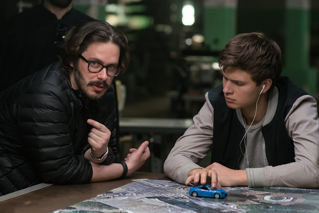 Baby Driver with director Edgar Wright and star Ansel Elgort